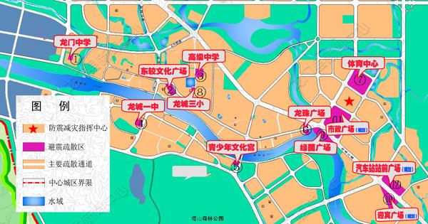 惠州是中国21个地震重点
